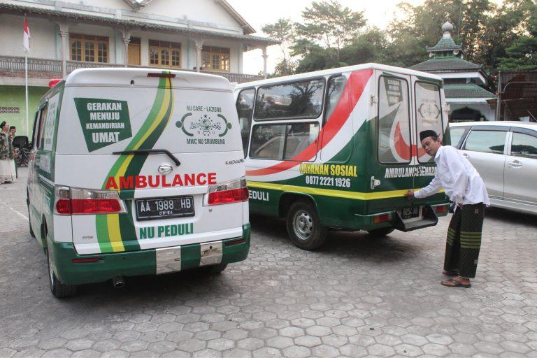 Maksimalkan Layani Umat, LazisNU Srumbung Tambah Armada Ambulance