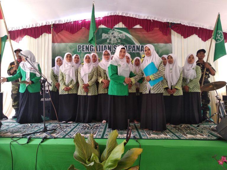 Nurokhmah Fitriyani dilantik Jadi Ketua Ranting Fatayat Bringin
