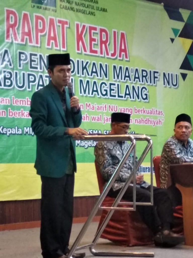 LP Ma'arif Srumbung Dukung PKPNU Bagi Guru Madrasah Ma'arif