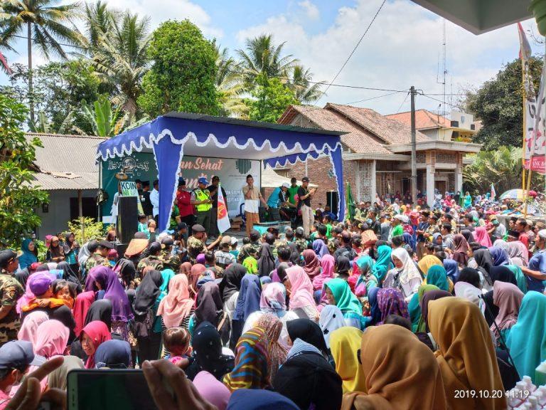 HSN 2019, 8000 peserta meriahkan Jalan Sehat Santri Srumbung