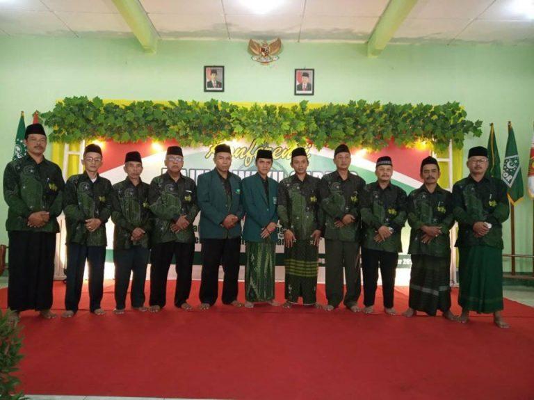 Ky Ahmad Bahakudin Syah dan H. Mahmud Rosidi, kembali ditetapkan sebagai Rais Syuriyah dan Ketua Tanfidziyah MWC-NU Srumbung