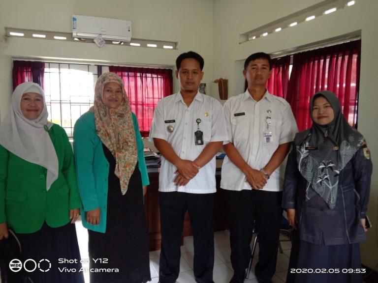 Jalin Sinergitas, Fatayat Silaturahmi dengan Camat Srumbung