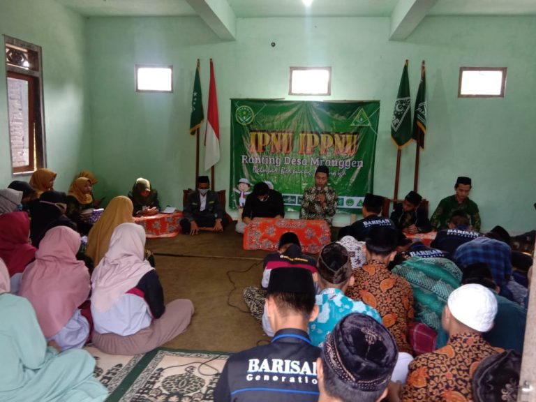IPNU-IPPNU Mranggen Terbentuk, MWC NU Siap Support
