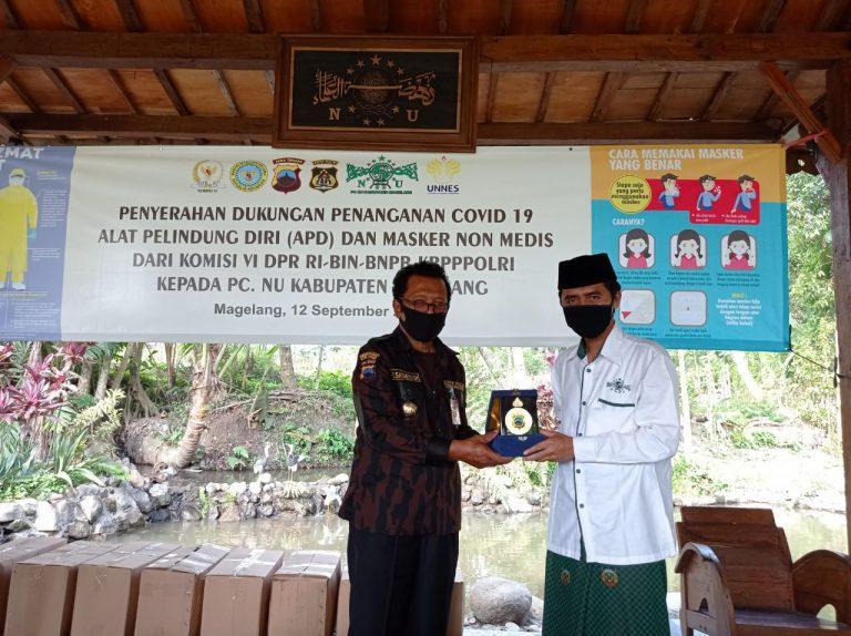 KBPP Polri Salurkan APD Bagi Ambulans NU