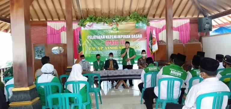 PAC Ansor Srumbung Gembleng 31 Kader di Lembah Manah Lereng Merapi